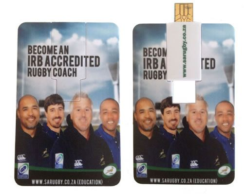 Credit Card USB with full colour branding. #creditcard #card #usb