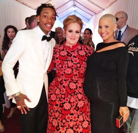 Wiz Khalifa, Adele, Amber Rose