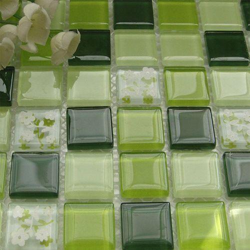 azulejos verdes cocina - Buscar con Google