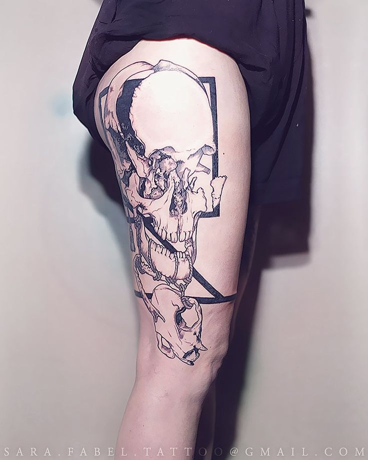 What Do Sara Fabel Tattoos Say