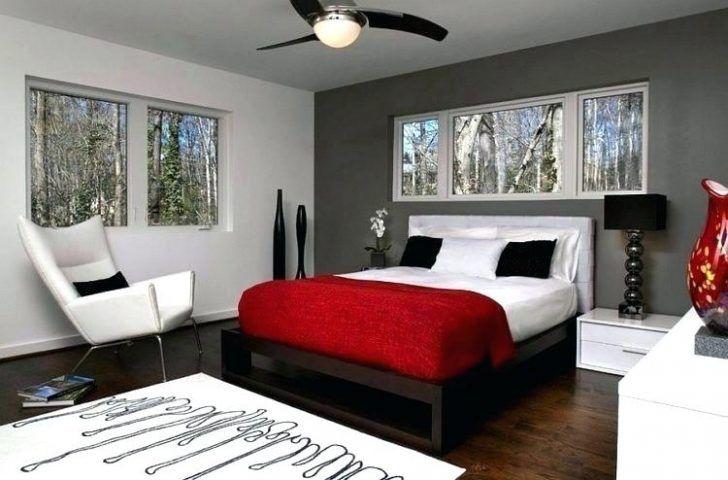 Verfuhrerisch Rot Und Weissen Schlafzimmer Ideen Graues