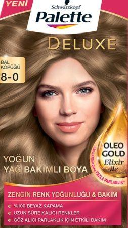 Palette 2017 Saç Renk Kartelası - Palette Bal Köpüğü Saç Boyası rengi