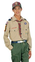 Webelos Scout Uniform