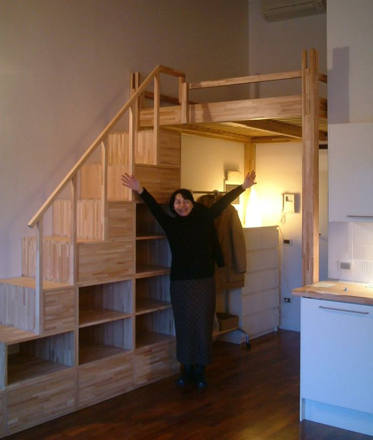 23 Best Loft Bed Closet Stairs Images On