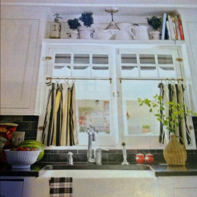 Kitchen Window Shelf: Shelf Above Kitchen Window
