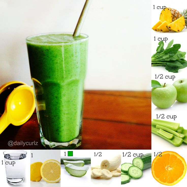yummy, healthy, weight lost smoothie