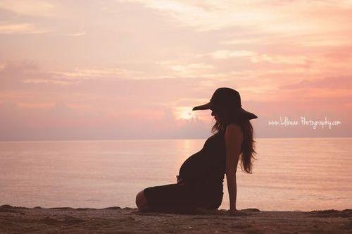 Imagen de beautiful, fashion, and pregnant