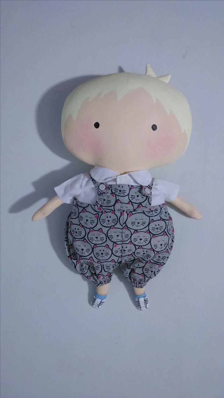 Tilda Toy Boy : Altura 36 cm.