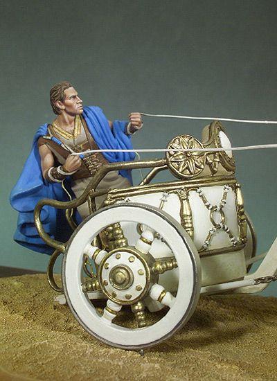Roman Chariot Races Info | Quadriga (Roman Racing Chariot)