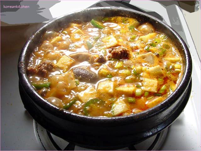 korean recipes korean food paste beans forward dwenjang jjige korean ...