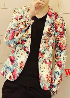 Floral Print Blazer for men is awwwwesome!!!