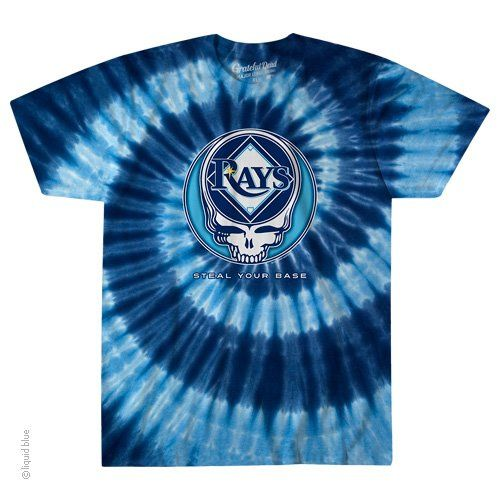 2a57b80e0e8 Grateful Dead - Tampa Bay Rays Steal Your Base Tie Dye T Shirt ...