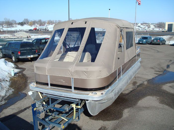 Pontoon Boat Enclosures | Minnesota Pontoon Covers & Enclosures | Canvas Craft