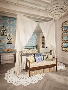 You like romantic bedrooms? Then you are going to fall in love with this one!