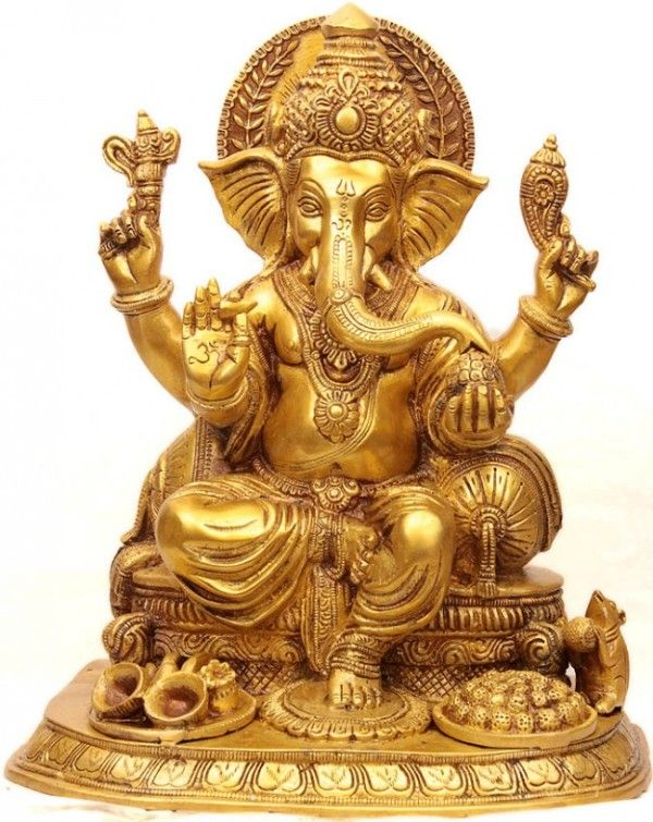 We bring Brass Ganesh statue, which is designed using premium high grade brass metal bought from a reliable and experienced vendor of our industry. This Brass Ganesh statue is protected with a coating to prevent it from tarnishing. Moreover, we also assure compliance with the international norms and guidelines to attain complete customers satisfaction. The elaborately carved idol of Lord Ganesh is available with us in different postures, size and weights with varying finishes.