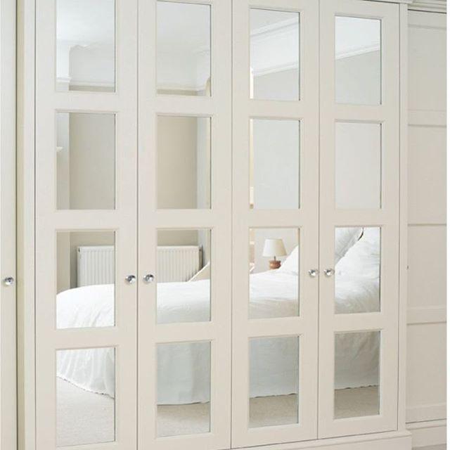 Szafa pax w innej odsłonie #home #interior #ikea #ikeapolska #ikeapax #mirror…