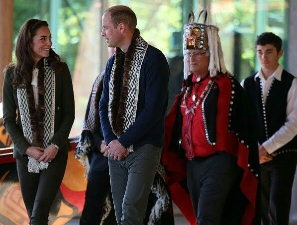 cheap converse sneakers nyc Prince William  Duke of Cambridge and Catherine  Duchess of Cambridge inside the Carving House at the Haida Heritage Centre and Museum at Skidegate on the island of Haida Gwaii on September 30  2016 in British Columbia during the Royal Tour of Canada