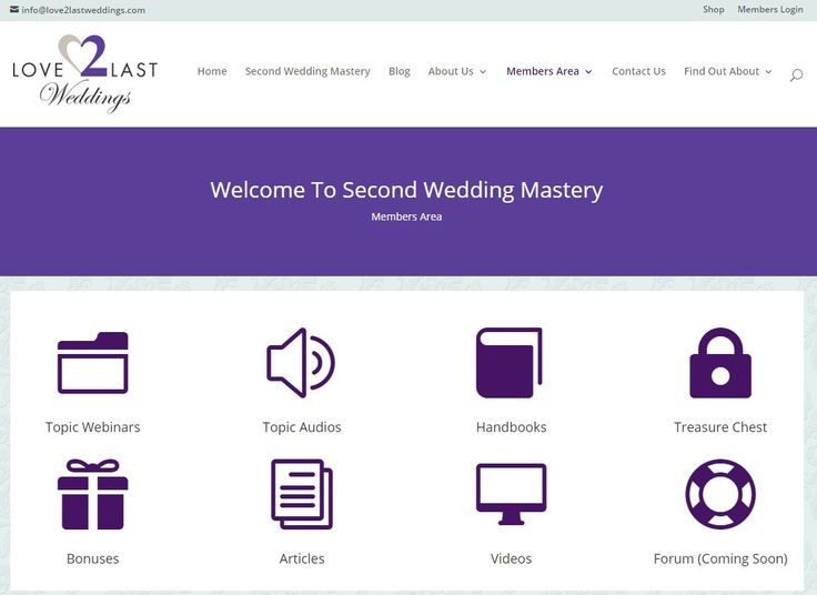 Here are selected tips from our Second Wedding Mastery program.  If you find them interesting, why not consider purchasing the product, you won't regret it as it has everything you need to plan your wedding as you and/or your partner marry again.