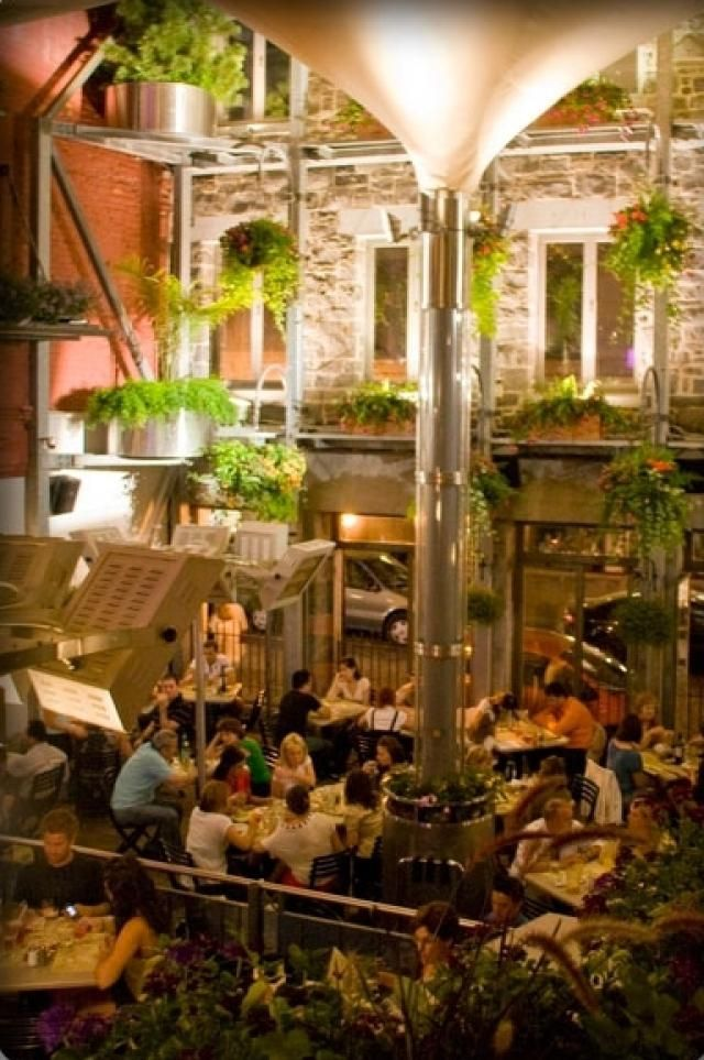 Best 25 montreal qc ideas on pinterest montreal quebec for Restaurant le jardin morat