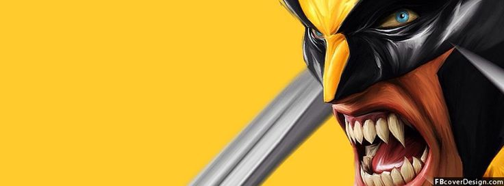 Angry Wolverine Facebook Timeline Covers | fbcoverdesign.com