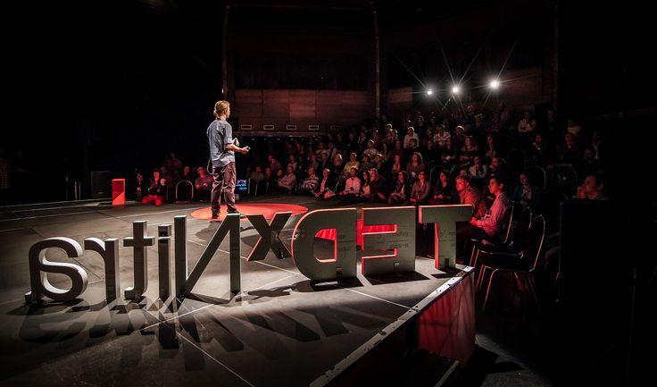 Aaron Chase @ TEDxNitra 2013