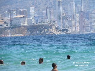 Recorrido multimedia por las playas de Poniente y Levante de Benidorm