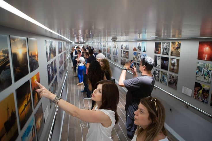 ANEK Lines Hosts Photo Exhibition of Greek Instagrammers.