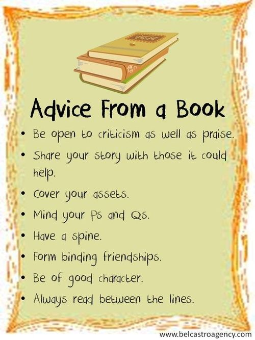Advice from a Book!
