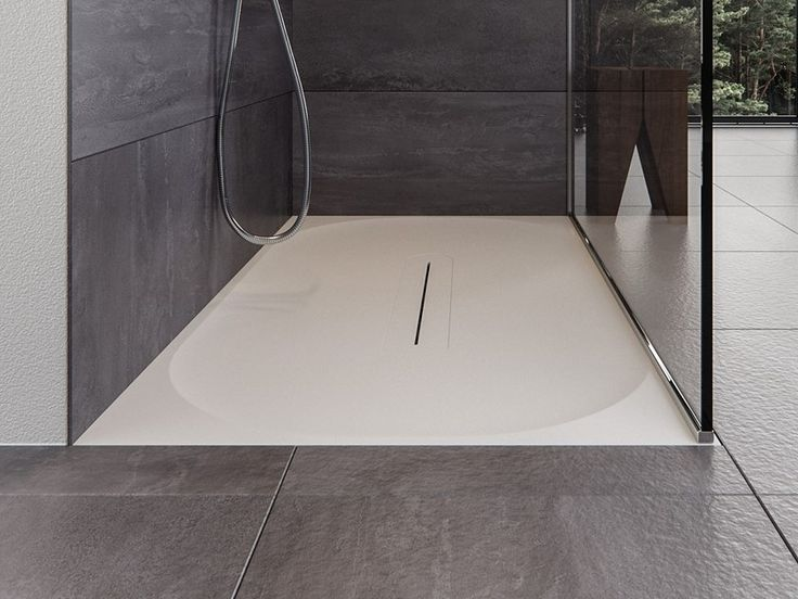 Rectangular Meridian Solid Surface Shower Tray Lagoon Sh01 By Le Projet Shower Tray Shower Base Shower