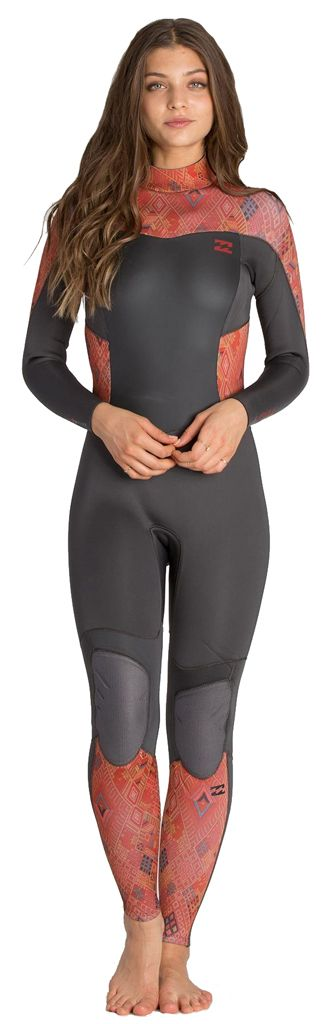 4/3mm Women's Billabong SYNERGY Full Wetsuit | Wetsuit Wearhouse