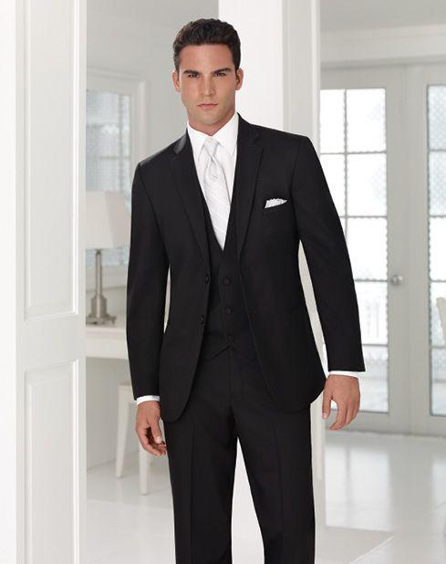 Collins Formal Wear - Black Suit by Jean Yves  http://www.collinsformalwear.com/catalogue.html