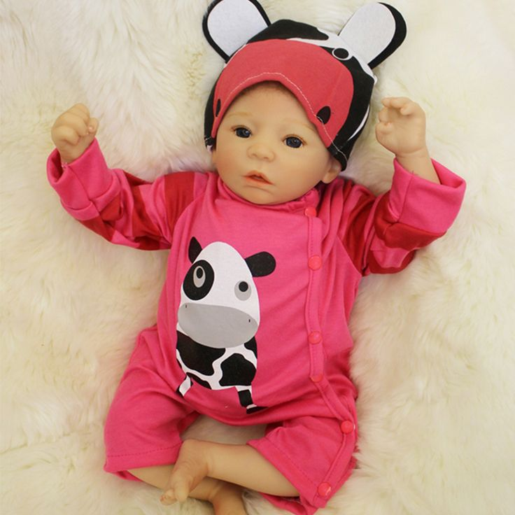 50cm Soft Silicone Reborn Baby Girl Dolls Toy For Sale Cheap 20inch Vinyl Newborn Alive Babies Dolls Like Real Child Play House  #Affiliate