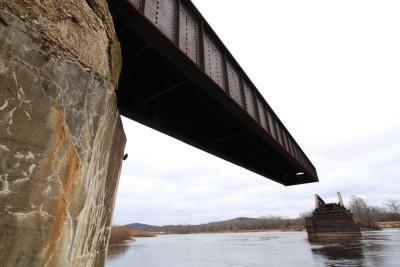 Bridgehunter.com   WSOR - Sauk City Bridge