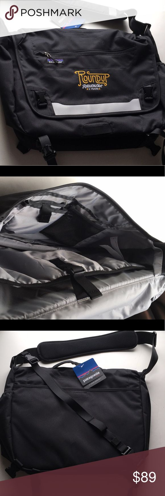 """🎉15"""" NEW Laptop Computer Case Bag Carry-on Sleeve Brand new! 15"""" Laptop Compatible. Embroidery says: """"Roundup Retailmenot 5 years"""". 🎉 Patagonia Bags Laptop Bags"""