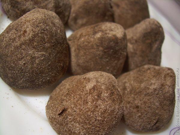 Домашние конфеты трюфели / Рецепты с фото