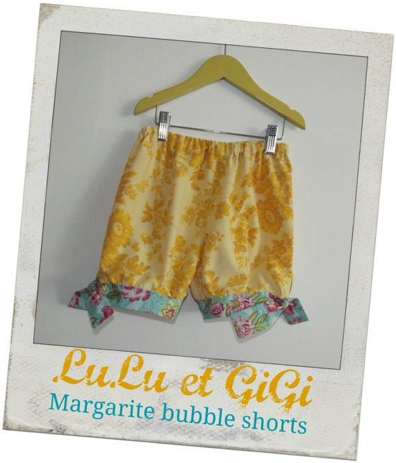 Margarite Vintage Bubble Shorts Original 1960's by LuLuetGiGi, $35.00Bubbles Shorts, Vintage Bubbles, Shorts Originals, Originals 1960 S, Sewing Ideas, Margarit Vintage, Child Pants, Sewing Child