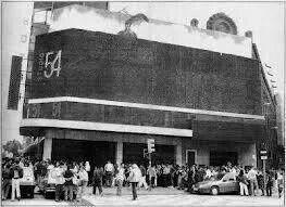 El Teatro Español convertido en Studio 54 en 1980