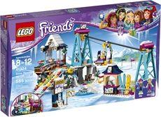LEGO Friends 41324 Vintersportstedets skiheis