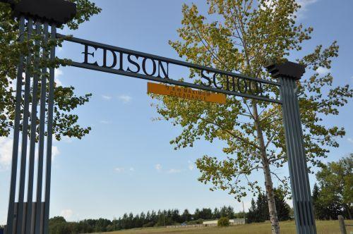 Edison School is a small private school located just north of Okotoks.