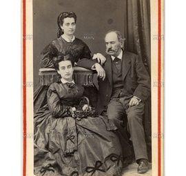 Vicente Perez Rosales e hijas