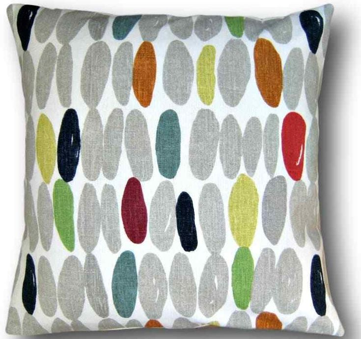 handmade laura ashley cushion cover wallace multi grey red green throw pillow