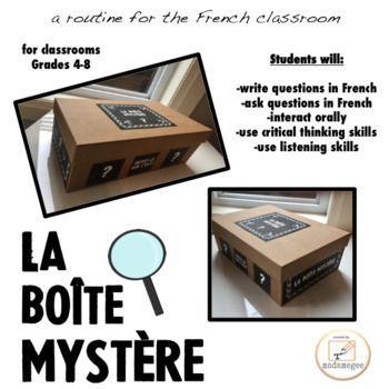 La Boite Myst�re- a routine for the French classroom
