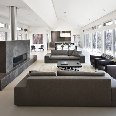 1000 images about open plan lounge on pinterest for Modern living room plan
