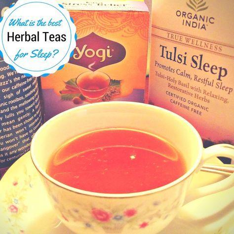 Best Teas for Sleep and Insomnia | Natural Sleep Remedy | What Herbal Teas Help Sleep