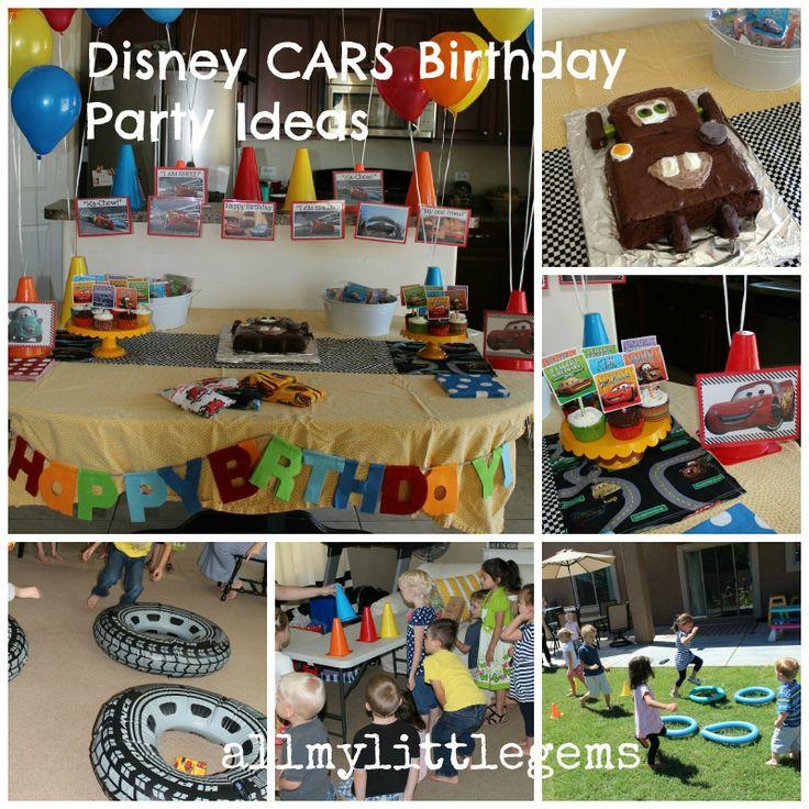 Disney Car's Birthday DIY Ideas