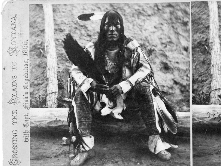 Iron Bear was the chief of the Arikara tribe on what's now the Fort Berthold Indian Reservation. He was photographed in 1868, two years before the reserve was established.