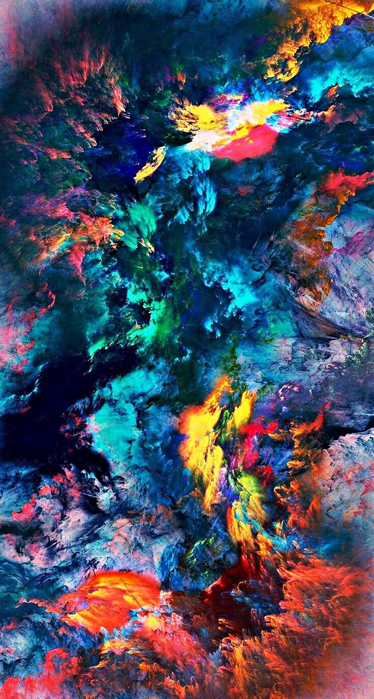 3D Colors wallpapers for mobile beauty Watercolor