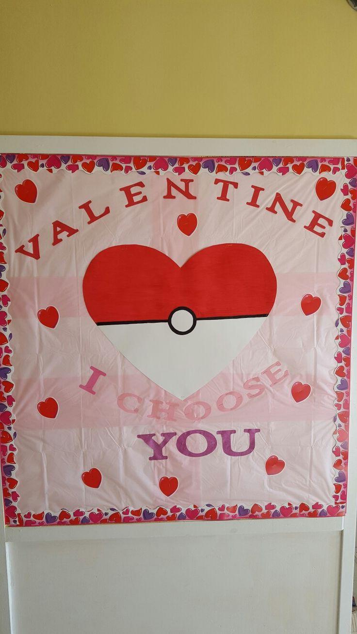 Valentine bulletin boards