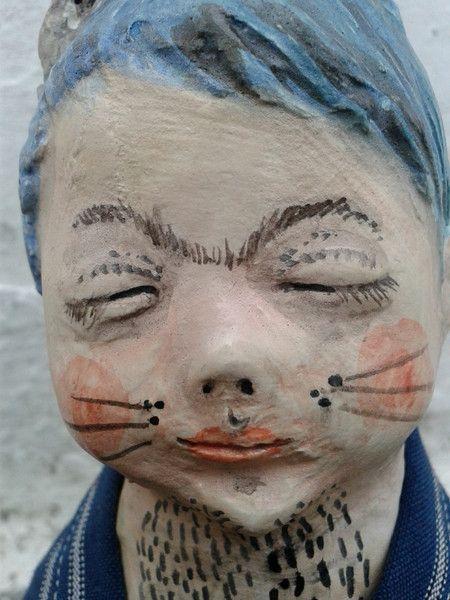 Freaks...Katzenmensch...??? von Galerie MIZUMI auf DaWanda.com