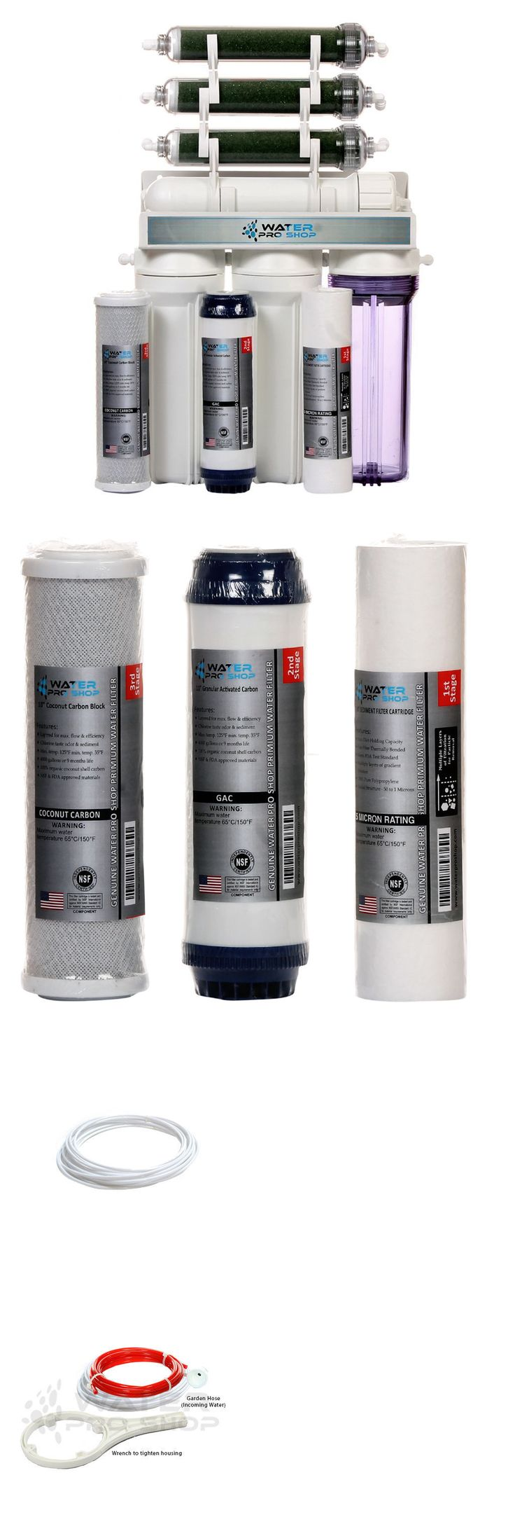 Reverse Osmosis and Deionization 77658: 7 Stage Aquarium Reef/Deionization-Reverse Osmosis (Ro/Di) Water System | 75 Gpd BUY IT NOW ONLY: $119.99